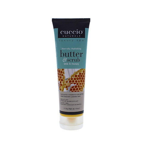 CUCCIO BUTTER AND SCRUB MILK AND HONEY - 113G