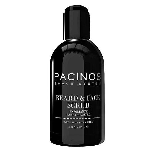 PACINOS BEARD AND FACE SCRUB 118ML