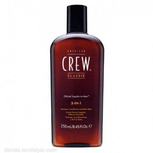 AMERICAN CREW 3 - IN - 1 250ml