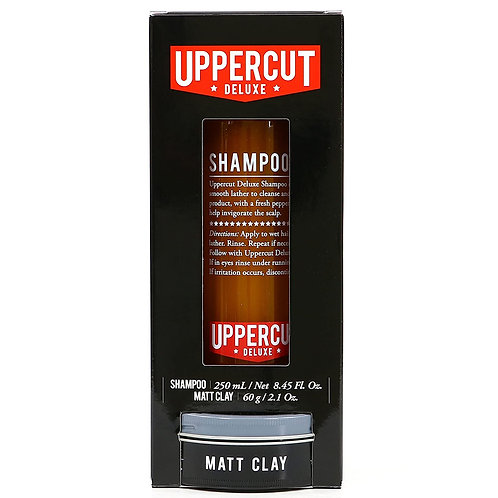 UPPERCUT UPPERCUT KIT DE SHAMPOO Y MATT CLAY