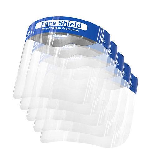 Pantalla protectora facial PACK 5 unidades.