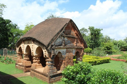 Gate, Radha Madhav temple