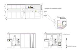 Ansichtszeichnungen Hauswirtschaftsraum