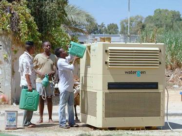 Máquina de empresa israelense cria água a partir do ar