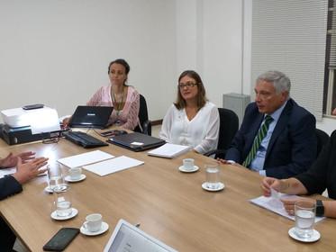 SEMA discute cooperação internacional para proteção de mananciais