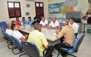 CBH PPA reúne prefeitos para debater abastecimento em municípios do Seridó
