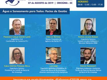 Inscrições abertas para evento que discutirá água e saneamento