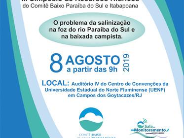 Simpósio de Recursos Hídricos acontece dia 8 em Campos dos Goytacazes
