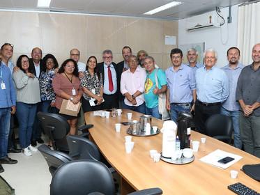 CBHs da Bahia se reúnem com secretário estadual de Meio Ambiente para propor agenda hídrica positiva