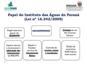 Arena Expo: O Papel do AGUASPARANÁ como Agência de Bacias Hidrográficas