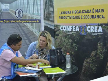 Estande do CONFEA /CREA-PR