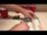 placing cannabis seed in paper towel or geminating