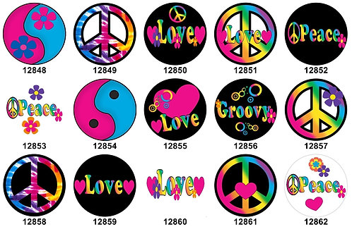 Groovy Love 12848-12862