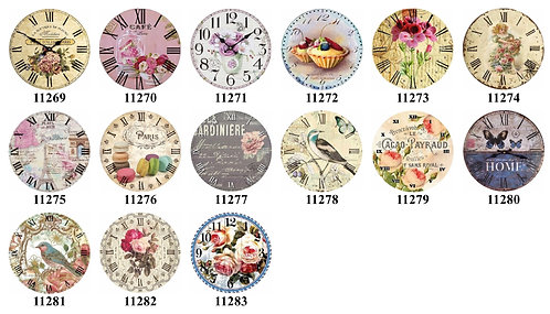 Clock Faces 11269-11283