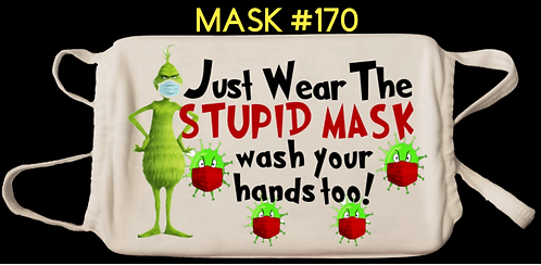 Grinch Digital Masks #170-179