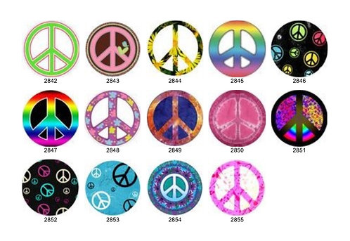 Peace Sign Collection 3