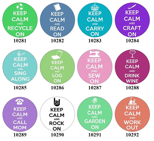 Keep Calm & Carry On 10281-10292