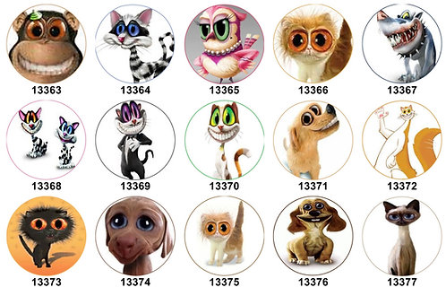 Twisted Whiskers 13363-13377