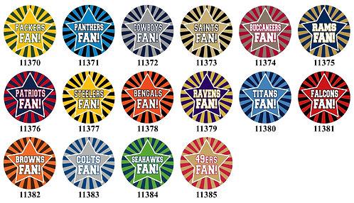 Football Fan 11370-11385