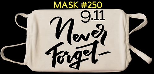 9.11 and Patriotic Digital Masks #250-260