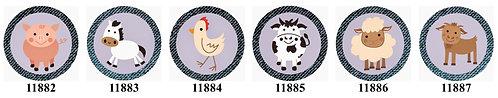 Farm Animals 11882-11887