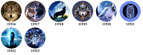 Wolves 11916-11923