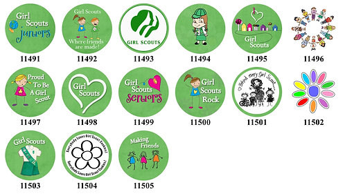 Girl Scouts 11491-11505