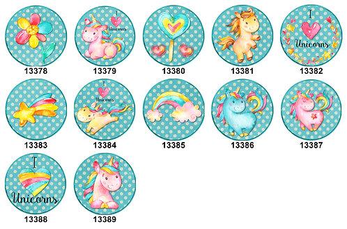 Unicorns 13378-13389