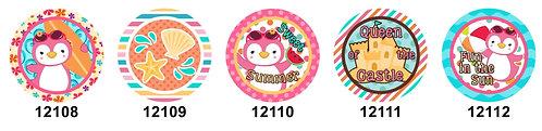 Summer Penguins 12108-12112