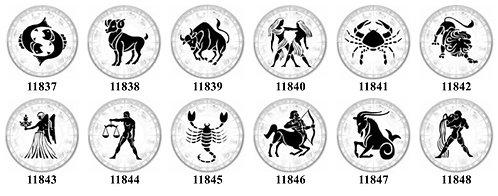 Zodiac 11837-11848