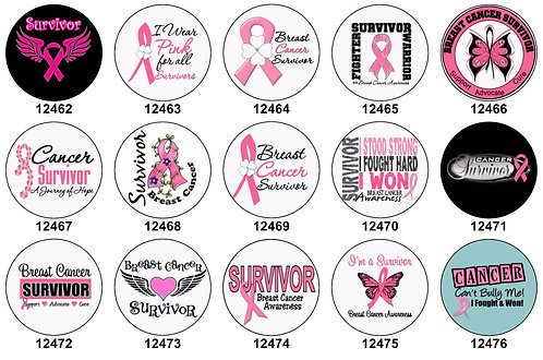 Breast Cancer Awareness Survivor 12462-12476