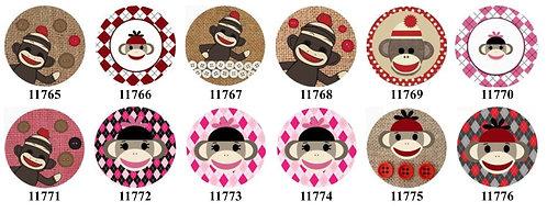 Sock Monkey 11765-11776