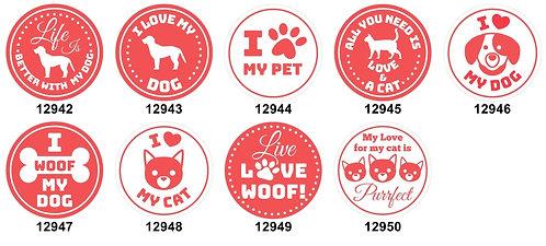 I Love My Pet 12942-12950