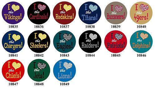 Football - I love football 10835-10849