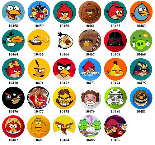 Angry Birds 10458-10486