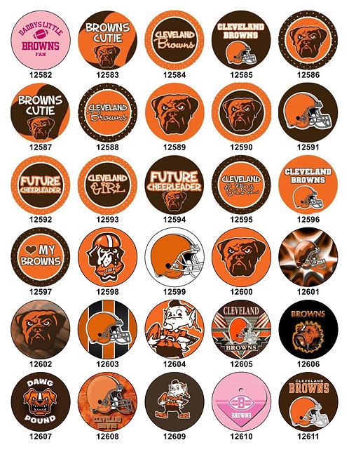 Cleveland Browns 12582-12611