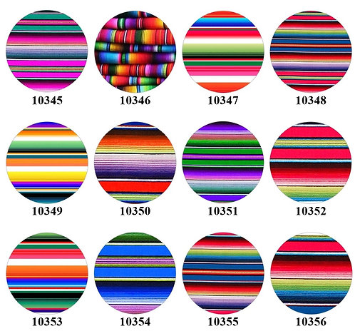 Mexican Blankets - 10345-10356