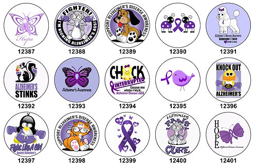 Alzheimers Awareness 12387-12401