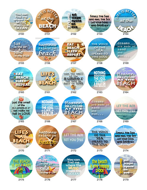 Beach Sayings Collection
