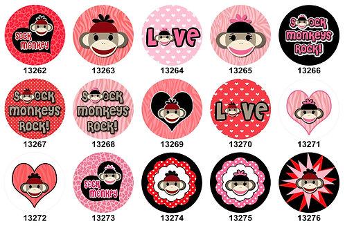 Sock Monkey 13262-13276