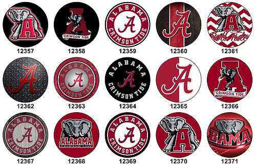Alabama Crimson Tide 12357-12371