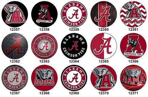 Alabama Crimson Tide 12357-12371