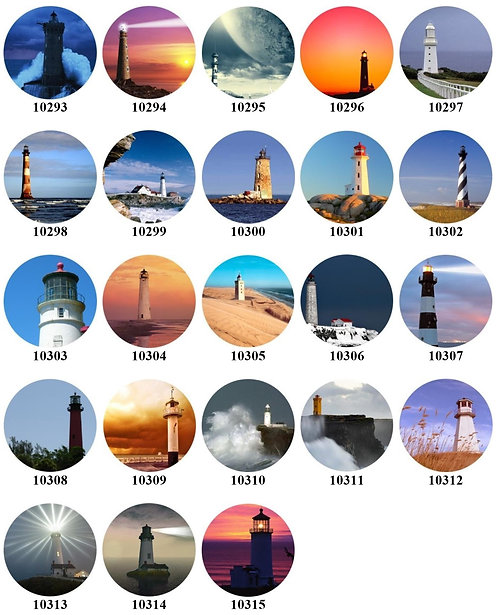 Lighthouses 10293-10315