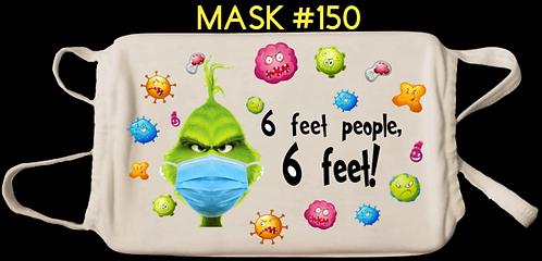 Grinch Digital Masks #150-159