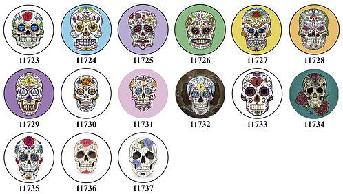 Skulls 11723-11737