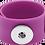 Thumbnail: Purple Single Snap Silicone Slap Bracelet+ 3 FREE SNAPS