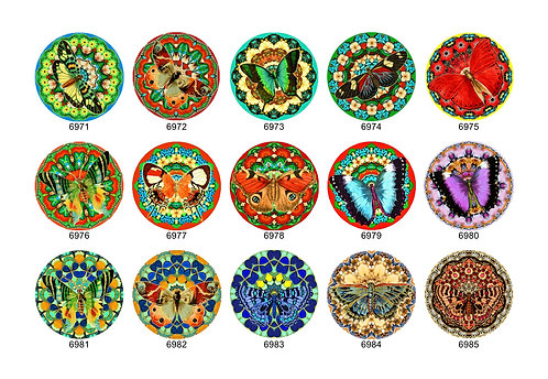 Butterfly Mandala Collection 4