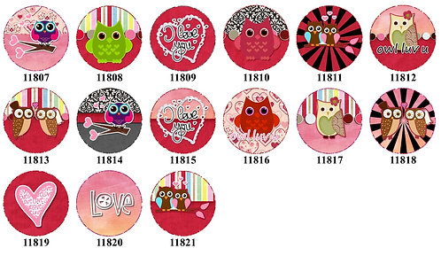 Valentine Owl 11807-11821