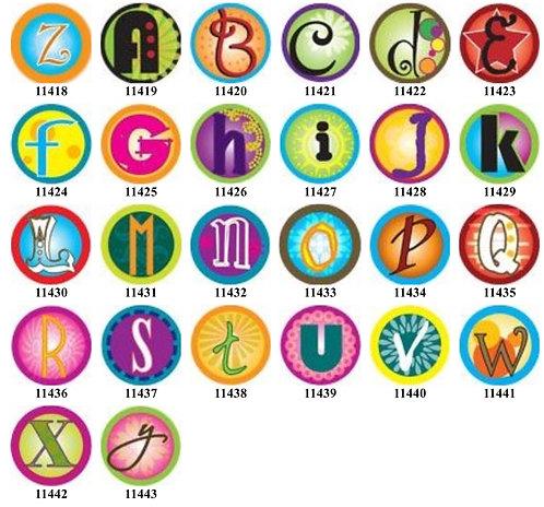 Funky Alphabet 11418-11443