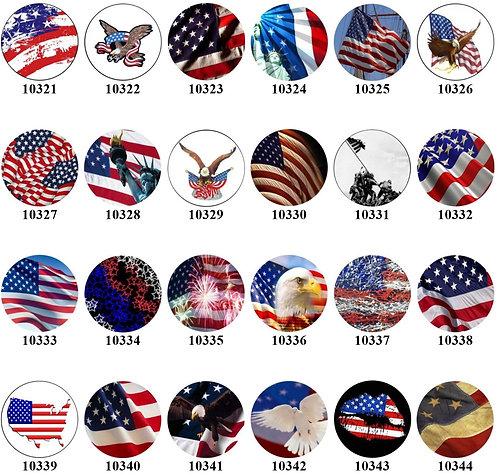 Patriotic Flags - 10321-10344